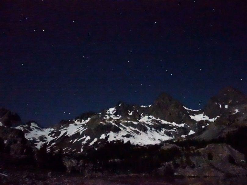Ediza Lake- 2:00 a.m.